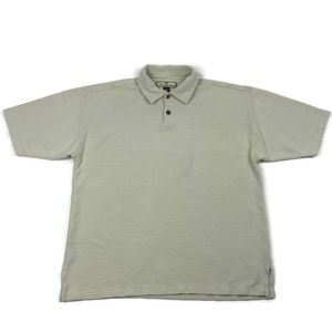 Tommy Bahama Silk Blend Polo Men's Large